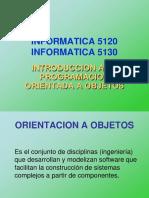 Informatica 5120 - Introduccion a La Poo