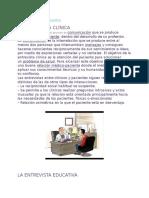 Entrevista Clínica y Educativa
