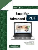 2013 Excel Advanced Manual