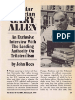 Gary Allen American Opinion Interview by John Rees