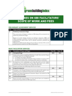 Guidelines on GBI Facilitators' Scope of Work & Fees V1.0