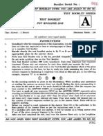 hppsc Pgt English question paper 2016