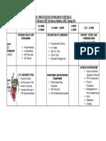 5 Schedule Hip Orientation Workshop Phase 3