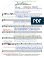 MuseScore - Getting Started English