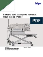Instructions for Use Globe Trotter Transport System_ES