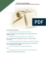 Diario de Aprendizaje