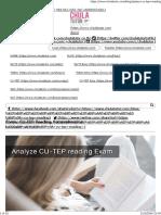 ข้อสอบ CU-TEP Reading Comprehension