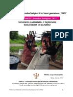 Violencia Ambiental  y Derechos Ecológicos de las futuras generaciones