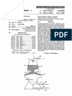Floating media hourglass biofilter (US patent 5232586)