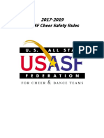 USASF Cheer Safety-Rules 2017