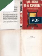 David J Sussmann - O Que e Acupuntura