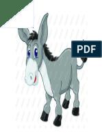 Donkey Flashcard