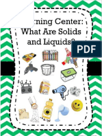 grade 2 students guide - solids and liquids learning center