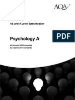 Psychology Specification 2010