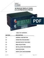175_als6a100 Backup Display Panel User Manual Reve