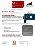 Folder Certificação ISO 9001