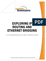 Exploring IP Routing and Ethernet Bridging