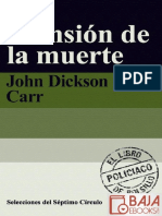 La Mansion de La Muerte - John Dickson Carr