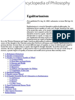 Egalitarianism (Stanford Encyclopedia of Philosophy:Fall 2014 Edition).pdf