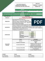 PRD-ES-037 Ficha Tecnica Uniarroz Mas Vitarroz Plus