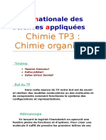 Chimie TP3