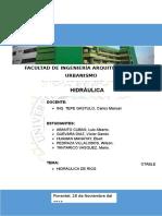 Hidraulica de Rios
