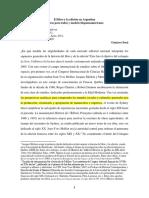 Sora 2011 El Libro y La Edicion en Argentina