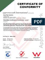 Watermark Australien ApprovalMark PP-R Pipes&Fittings ISO15874 Bis 08-04-2017