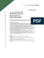 BIDA2010 Concept