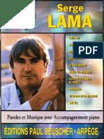 Serge Lama - Top - Book