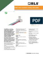 Data Sheet RM08 Super Small Non Contact Rotary Encoder