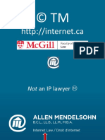 IP on the Internet McGill March 28 2017