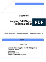 ERD Relational Mapping