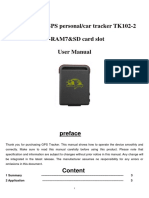 GPS tk-102 device