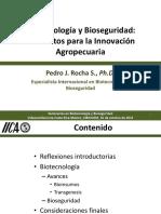 Biotecnologia y Bioseguridad