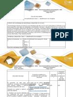 Guía de Actividades y Rúbrica de Evaluación - Paso 1 -Identificación de Conceptos