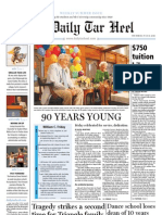 The Daily Tar Heel for July 15, 2010