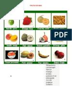 Nombre de Frutas y Animales en Idioma Mam, Vegetales en Mam y Colores en Mam y Numero Del 1 Al 20 en Man Ilustrado Todo