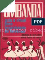 Umbanda Guia e Ritual Para Organização de Terreiros - Trancredo Da Silva Pinto e Byron Tôrres de Freitas