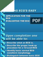Ecg Made Easy Electrocardiography Circulatory System