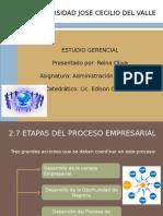 ESTUDIO GERENCIAL DIAPOS