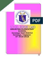 Report Card 2016-2018