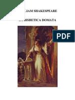 Shakespeare La Bisbetica Domata