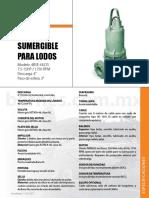 Ficha-tecnica Bomba Sumergibles 7.5 Hp, 11. 3 Hp