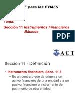 Seccion 11 La NIIF Para Las PYMES