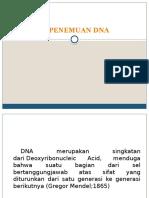 Sejarah Penemuan DNA