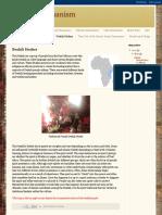African Shamanism:Swahili Healers