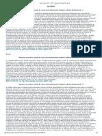 Informativo STF __ STF - Supremo Tribunal Federal