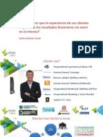 Impacto Financiero Experiencia - PHD Academia Medellin Mar 2017 (Carlos Graham)