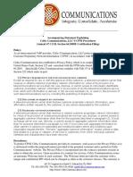 Celtic Communications Accompanying Stmt CPNI 2016 filing.pdf